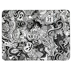 Halloween Pattern Samsung Galaxy Tab 7  P1000 Flip Case by ValentinaDesign