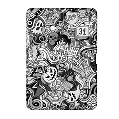 Halloween Pattern Samsung Galaxy Tab 2 (10 1 ) P5100 Hardshell Case  by ValentinaDesign
