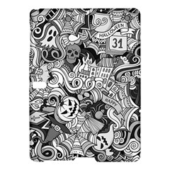 Halloween Pattern Samsung Galaxy Tab S (10 5 ) Hardshell Case  by ValentinaDesign