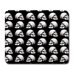 Halloween Skull Pattern Large Mousepads by ValentinaDesign