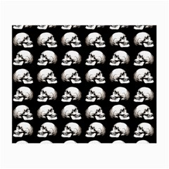 Halloween Skull Pattern Small Glasses Cloth (2 Side) by ValentinaDesign