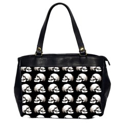 Halloween Skull Pattern Office Handbags (2 Sides)  by ValentinaDesign