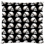 Halloween skull pattern Large Cushion Case (Two Sides) Back