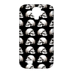 Halloween Skull Pattern Samsung Galaxy S4 Classic Hardshell Case (pc+silicone)