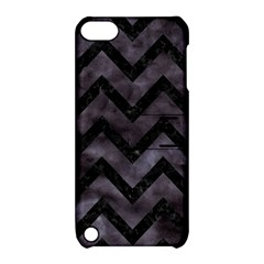 Chevron9 Black Marble & Black Watercolor (r) Apple Ipod Touch 5 Hardshell Case With Stand by trendistuff