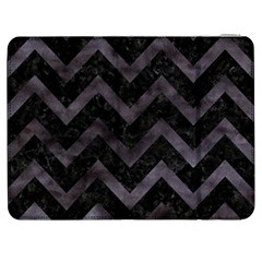 Chevron9 Black Marble & Black Watercolor Samsung Galaxy Tab 7  P1000 Flip Case by trendistuff