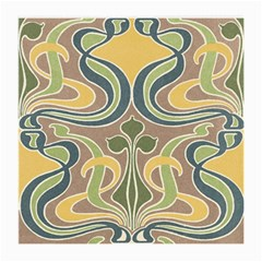 Art Nouveau Medium Glasses Cloth (2 Side) by 8fugoso