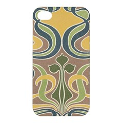 Art Nouveau Apple Iphone 4/4s Hardshell Case by 8fugoso