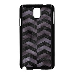 Chevron2 Black Marble & Black Watercolor Samsung Galaxy Note 3 Neo Hardshell Case (black) by trendistuff