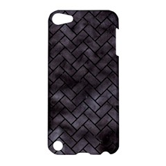 Brick2 Black Marble & Black Watercolor (r) Apple Ipod Touch 5 Hardshell Case by trendistuff