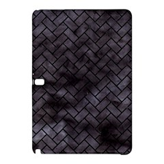 Brick2 Black Marble & Black Watercolor (r) Samsung Galaxy Tab Pro 10 1 Hardshell Case by trendistuff