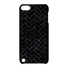 Brick2 Black Marble & Black Watercolor Apple Ipod Touch 5 Hardshell Case With Stand by trendistuff