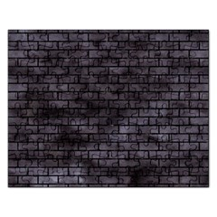 Brick1 Black Marble & Black Watercolor (r) Rectangular Jigsaw Puzzl by trendistuff