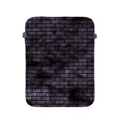 Brick1 Black Marble & Black Watercolor (r) Apple Ipad 2/3/4 Protective Soft Cases by trendistuff