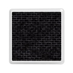 Brick1 Black Marble & Black Watercolor Memory Card Reader (square)  by trendistuff