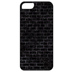 Brick1 Black Marble & Black Watercolor Apple Iphone 5 Classic Hardshell Case by trendistuff