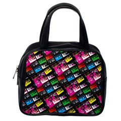 Pattern Colorfulcassettes Icreate Classic Handbags (one Side)