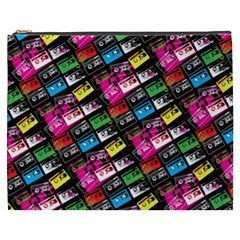 Pattern Colorfulcassettes Icreate Cosmetic Bag (xxxl)