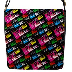 Pattern Colorfulcassettes Icreate Flap Messenger Bag (s)
