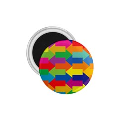 Arrow Rainbow Orange Blue Yellow Red Purple Green 1 75  Magnets by Mariart