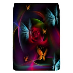 Beautiful Butterflies Rainbow Space Flap Covers (s)  by Mariart