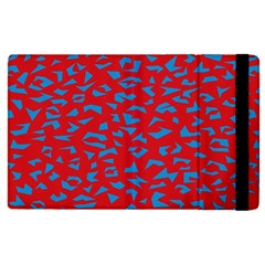 Blue Red Space Galaxy Apple Ipad Pro 9 7   Flip Case by Mariart