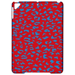 Blue Red Space Galaxy Apple Ipad Pro 9 7   Hardshell Case by Mariart