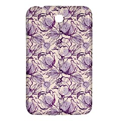 Vegetable Cabbage Purple Flower Samsung Galaxy Tab 3 (7 ) P3200 Hardshell Case  by Mariart