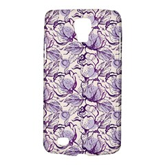 Vegetable Cabbage Purple Flower Galaxy S4 Active by Mariart