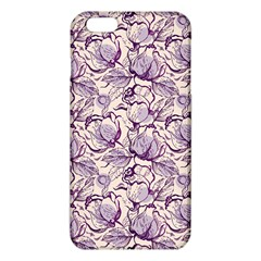 Vegetable Cabbage Purple Flower Iphone 6 Plus/6s Plus Tpu Case by Mariart