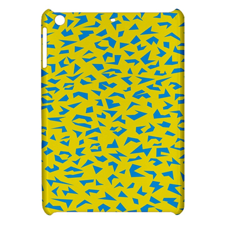 Blue Yellow Space Galaxy Apple iPad Mini Hardshell Case