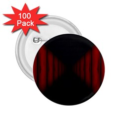 Black Red Door 2 25  Buttons (100 Pack)  by Mariart