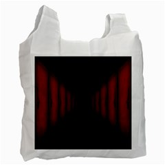 Black Red Door Recycle Bag (one Side) by Mariart