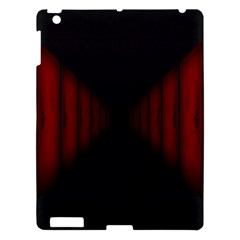 Black Red Door Apple Ipad 3/4 Hardshell Case by Mariart