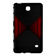 Black Red Door Samsung Galaxy Tab 4 (8 ) Hardshell Case  by Mariart