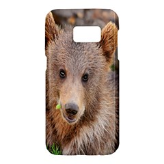 Baby Bear Animals Samsung Galaxy S7 Hardshell Case  by Mariart