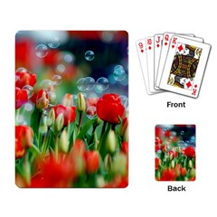 Colorful Flowers Playing Card by Mariart