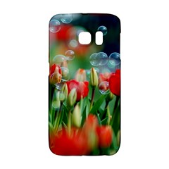 Colorful Flowers Galaxy S6 Edge by Mariart