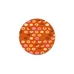 Coffee Donut Cakes Golf Ball Marker (10 Pack)