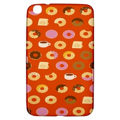Coffee Donut Cakes Samsung Galaxy Tab 3 (8 ) T3100 Hardshell Case  by Mariart