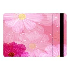 Cosmos Flower Floral Sunflower Star Pink Frame Apple Ipad Pro 10 5   Flip Case