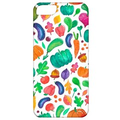 Pattern Autumn White Apple Iphone 5 Classic Hardshell Case by Mishacat