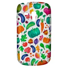 Pattern Autumn White Galaxy S3 Mini by Mishacat