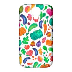 Pattern Autumn White Samsung Galaxy S4 Classic Hardshell Case (pc+silicone) by Mishacat