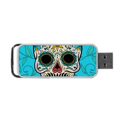 Sugar Skull New 2015 Portable Usb Flash (two Sides) by crcustomgifts