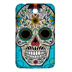 Sugar Skull New 2015 Samsung Galaxy Tab 3 (7 ) P3200 Hardshell Case  by crcustomgifts