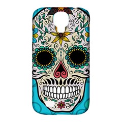 Sugar Skull New 2015 Samsung Galaxy S4 Classic Hardshell Case (pc+silicone)