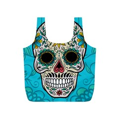 Sugar Skull New 2015 Full Print Recycle Bags (s)  by crcustomgifts