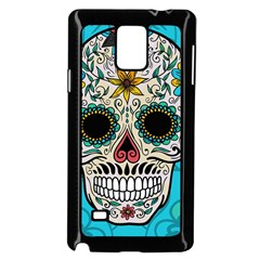 Sugar Skull New 2015 Samsung Galaxy Note 4 Case (black) by crcustomgifts