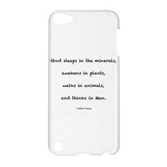 Inspirational Quote (arthur Young) Apple Ipod Touch 5 Hardshell Case by DeneWestUK
